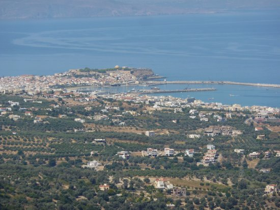 Maroulas, Greece: you can see the whole of rethymno