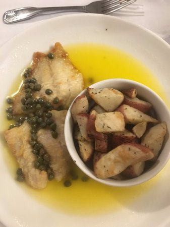Monteagle, TN: grouper in picatta soup