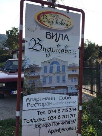 Central Serbia, เซอร์เบีย: Vila Vidikovac