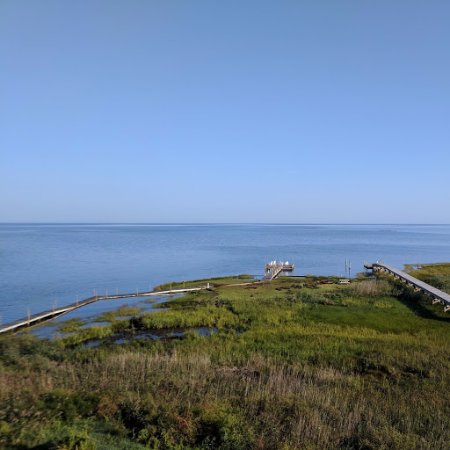 The Inn on Pamlico Sound: View from the deck of the 'Oleander' room 09/20/2017