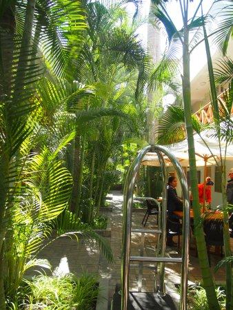 Casa Andina Standard Nasca: Patio intérieur rez de chaussée