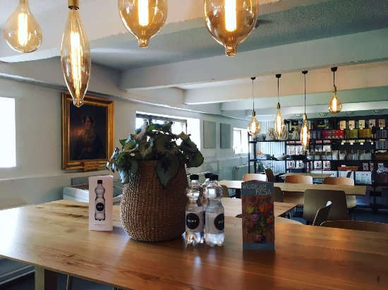Salo, Finlandia: Wiurila bistro is relaxed and cosy