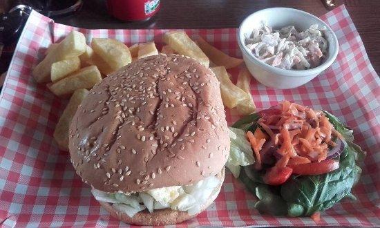 Machrihanish, UK: Delicious Base Burger