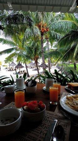 Victoria Beachcomber Resort & Spa: petit dej