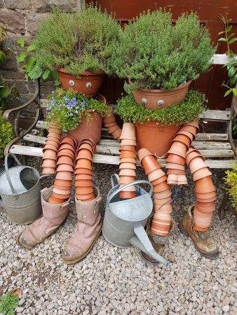 Whitchurch, UK: their quirky adorable garden