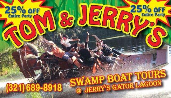 Lake Panasoffkee, FL: Great discounts alligators and air boats
