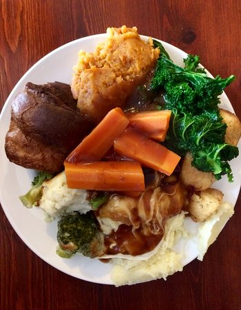 Penmaenpool, UK: Vegetarian Sunday carvery