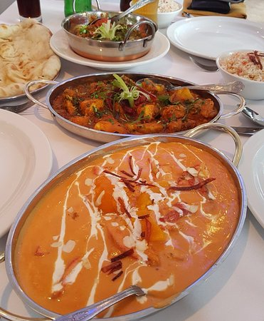 Nuneaton, UK: few dishes from our restaurant