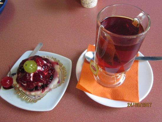 Cafe Lehe : Фруктовое пироженое