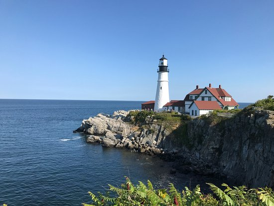 Portland Head Light: View of the lighthouse