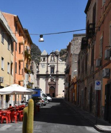 Bosa, Italia: Fassade