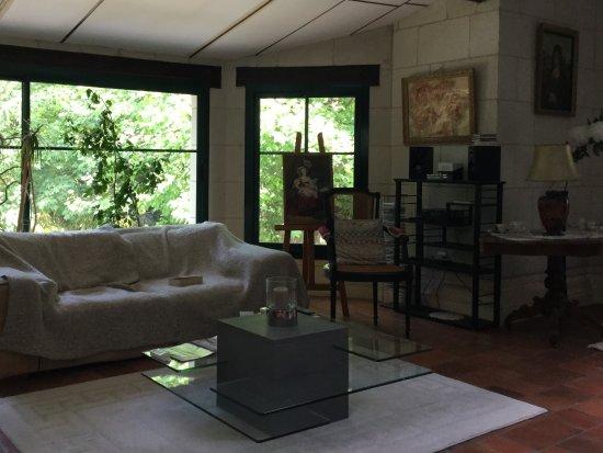 Clos du Bois Brard : Salon commun