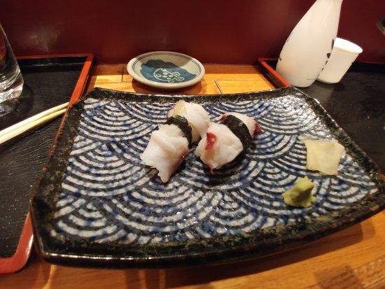 Oka Sushi : Encore de la pieuvre