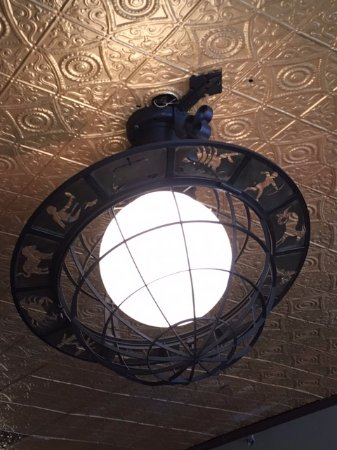 Harry Browne's Restaurant: HISTORIC LIGHT FICTURES