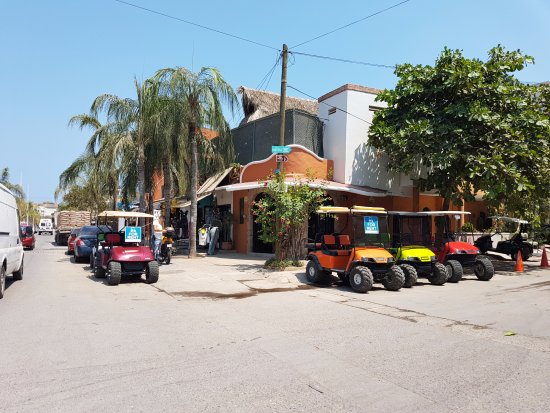 Sayulita, Meksika: RGC Custom made Golf Carts