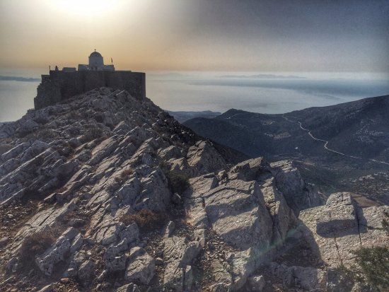 Sifnos, Greece: Profiti Ilias Sunrise