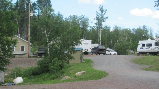 Bishop's Falls, Canadá: RV Park beside Country Inn