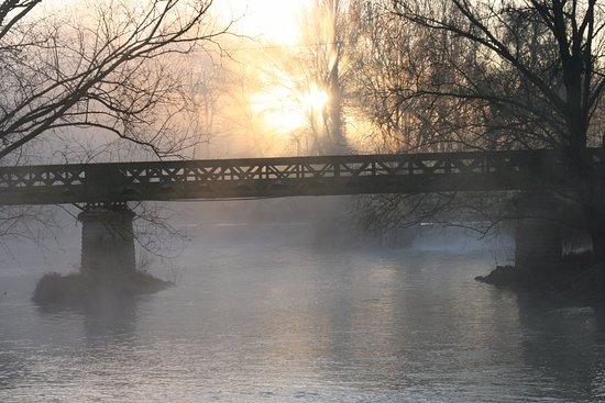 Le Moulin de Saint Jean : Réveil hivernal au moulin de Saint Jean