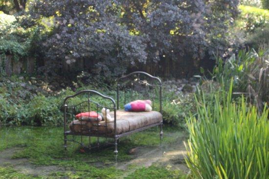 Le lit dans l 39 eau picture of jardin des fontaines - Le jardin des fontaines petrifiantes ...