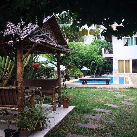 Seahorse Residence: внутренний дворик