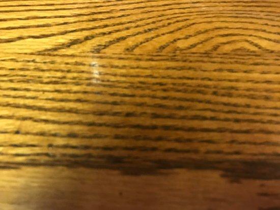 Mullica Hill, NJ: The table tops made me feel sad :(