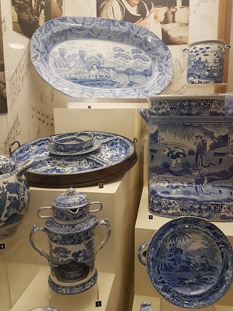 Displays Of Spode Porcelain Picture Of The Spode Museum