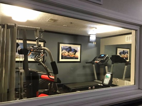Elyria, OH: fitness room
