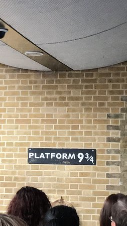 Photo of Harry Potter Shop at Platform 9 3/4 in London, , GB