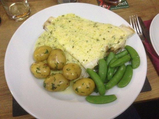 White Hart Inn Restaurant Catch Of The Day Dish