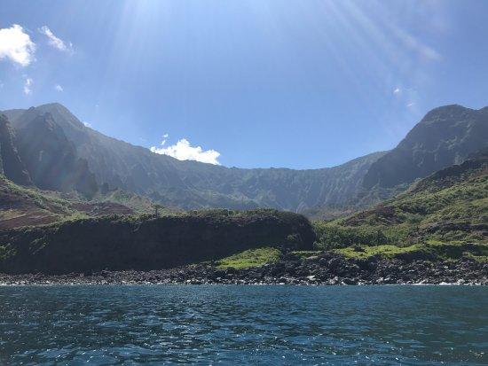 Kekaha, HI: The most beautiful, lush coastline I've ever seen.