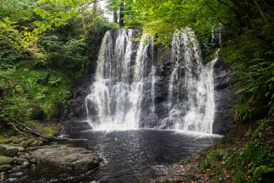 Antrim (amt), UK: Another waterfall
