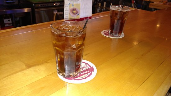 Prop's Bar & Grill - Long Lake - Sarona WI - Million $ View - Jack & Coke