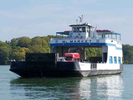 Port Clinton, OH: one of the ferry boats