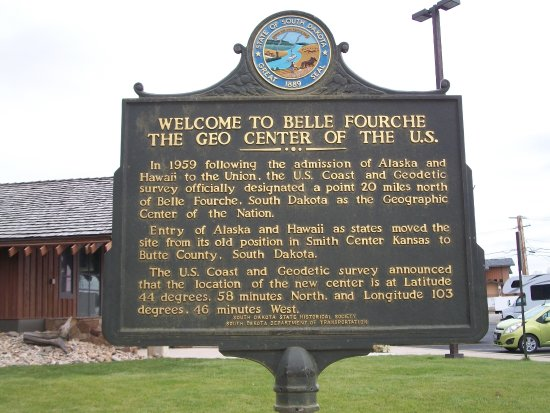Center of the Nation Monument: Explains how this location is the Geographic Center
