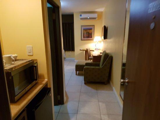 Cara Suites: Entering the room