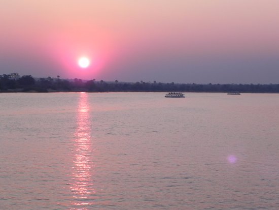Zimbabwe: Sunset at the Zambezi