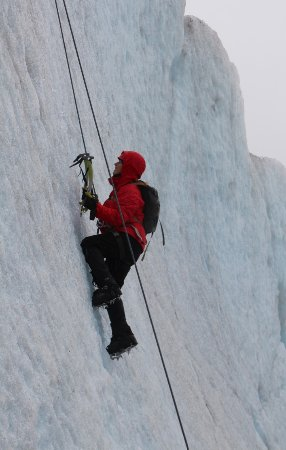 NorthStar Trekking: Ice climbing on the extended trek made easy by the professional guides that accompanied us.