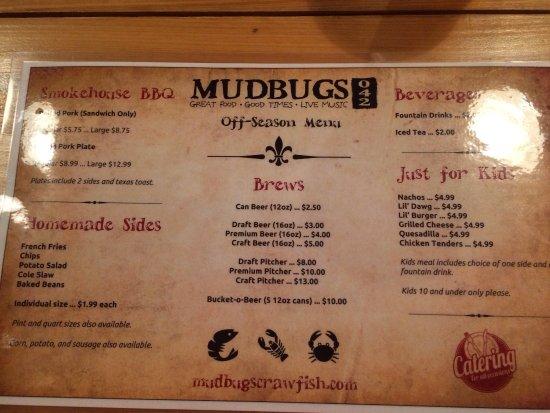 Brandon, MS: 'Nuther whole Mudbugs!!!