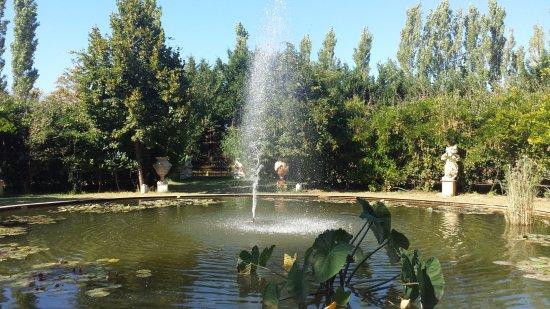Mas de la Chapelle : la grande fontana