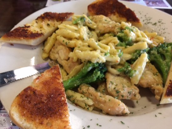 Franklin, Νιού Τζέρσεϊ: Chicken and Pasta dish