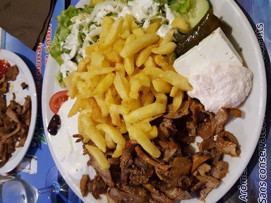 Restaurant plaka dans valenciennes avec cuisine grecque for Cuisine grecque