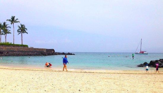 The Islands at Mauna Lani: beautiful beach and snorkeling bay