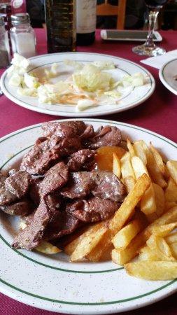 Una, Ισπανία: Deer dish