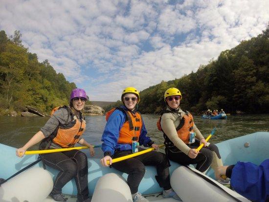Lansing, Batı Virjinya: Rafting
