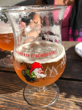 White Rock, Canada: LaChouffe is the beer in town...staple at Ulis😎🍺