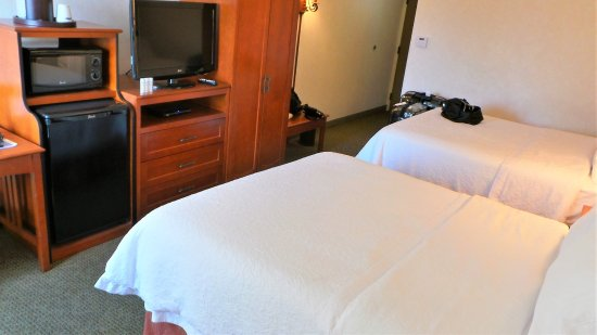 Room was very comfortable and well stocked