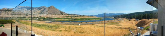 Kamloops, Canada: View from Terrace Restaurant