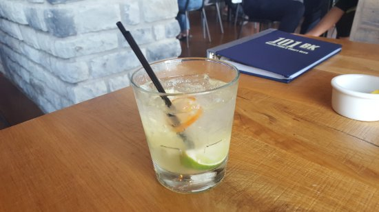 Westerville, OH: Caipirinha - perfectly made, tasty with a zing!