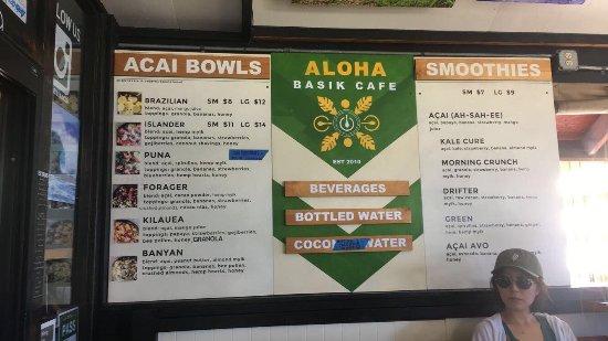 Basik Cafe Prices