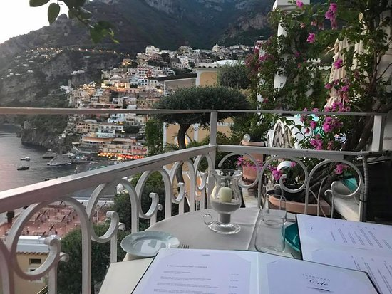 Table 2 Picture Of Terrazza Cele Positano Tripadvisor